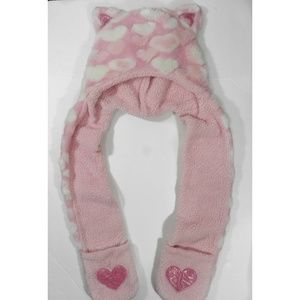 Other - Plush animal hat with long paws